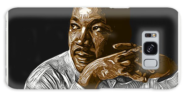 Galaxy Case featuring the digital art I Have A Dream . . . by Antonio Romero