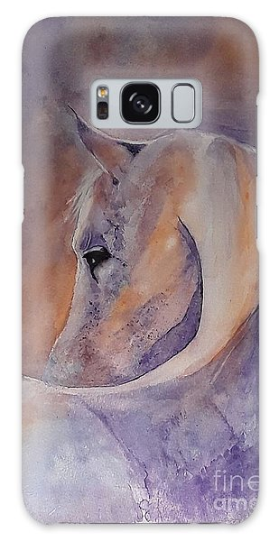 I Hear You - Painting Galaxy Case by Veronica Rickard