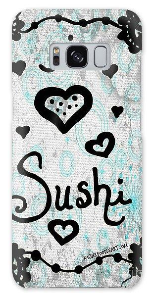 I Heart Sushi Galaxy Case