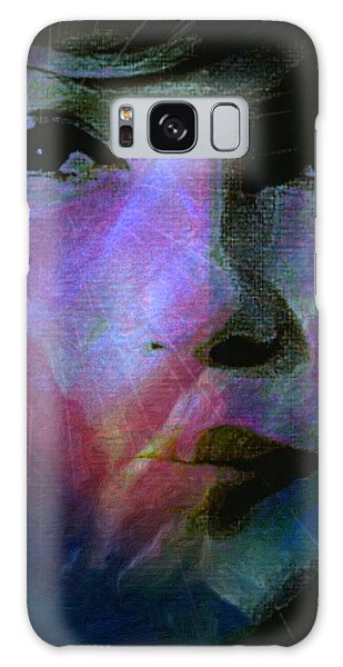 I Liked You Because You Were Kind. Galaxy Case by Michele Carter