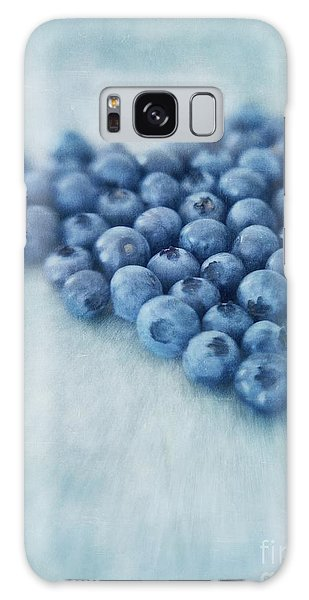 I Love Blueberries Galaxy Case