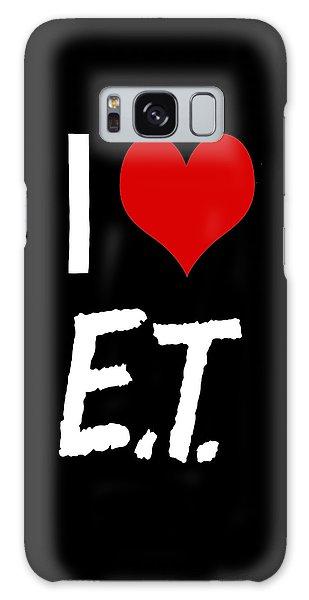 I Love E.t. Galaxy Case by Gina Dsgn