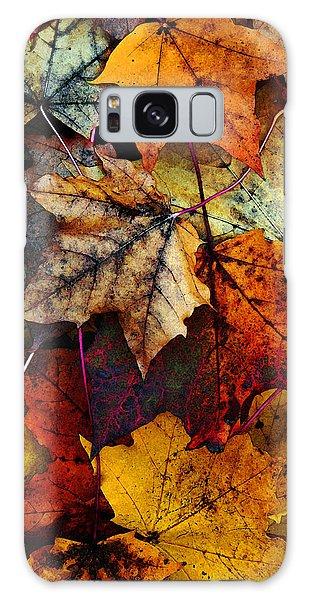 I Love Fall 2 Galaxy Case by Joanne Coyle
