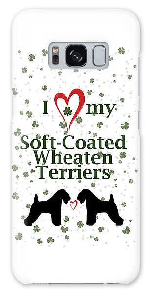 I Love My Soft Coated Wheaten Terriers Galaxy Case