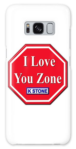 Galaxy Case - I Love You Zone by K STONE UK Music Producer