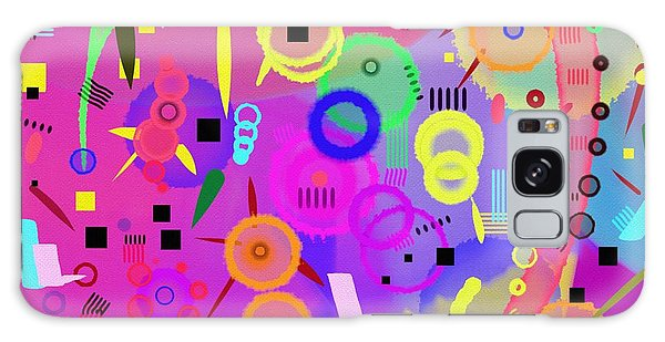 Galaxy Case featuring the digital art I Once Was Happy by Silvia Ganora