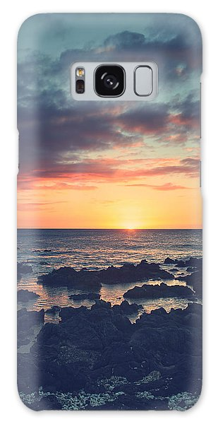 Cloudscape Galaxy Case - I Open My Heart by Laurie Search