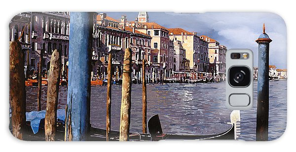 Dock Galaxy S8 Case - I Pali Blu by Guido Borelli