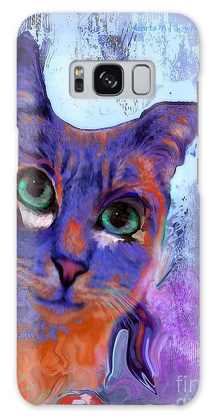 I See You Cat Galaxy Case