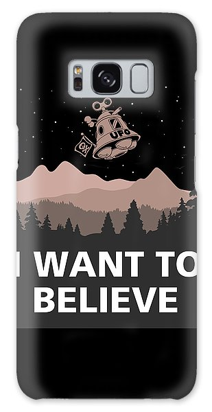 I Want To Believe Galaxy Case by Gina Dsgn