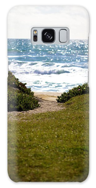 I Will Follow - Ocean Photography Galaxy Case