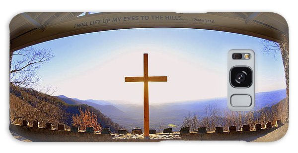 I Will Lift My Eyes To The Hills Psalm 121 1 Galaxy Case