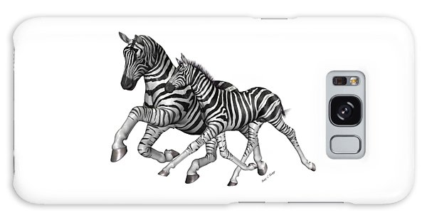 Zebra Galaxy S8 Case - I Will Take You Home by Betsy Knapp