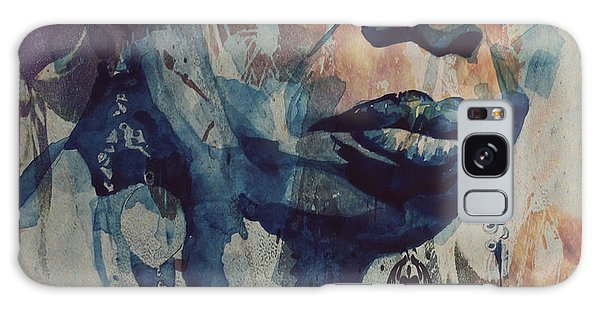 Usa Galaxy Case - I Wish I Knew How It Would Be  Feel To Be Free by Paul Lovering
