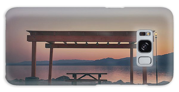 Picnic Table Galaxy Case - I Wonder Where You Are Tonight by Laurie Search