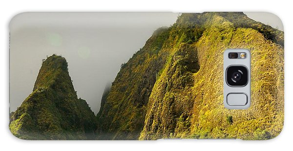 Iao Needle And Mountain Galaxy Case