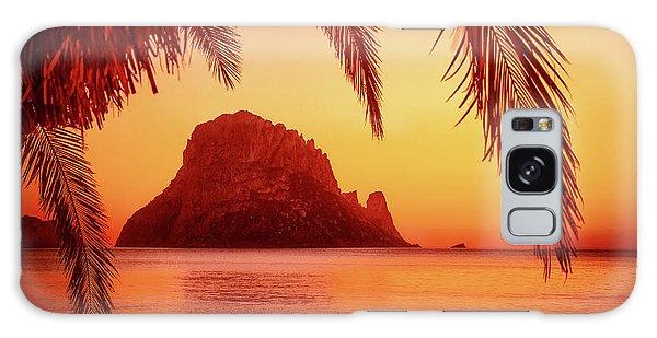 Ibiza Sunset Galaxy Case by Iryna Goodall