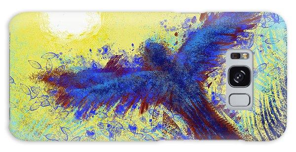 Galaxy Case featuring the digital art Icarus by Antonio Romero