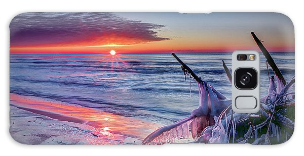 Ice Age Sunrise 1 Galaxy Case
