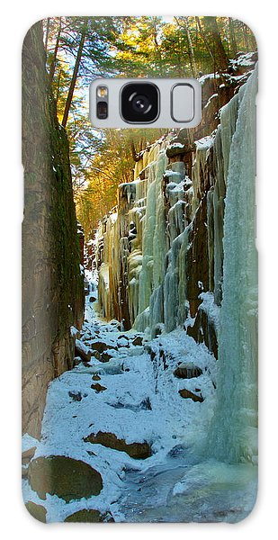 Ice At The Flume Galaxy Case
