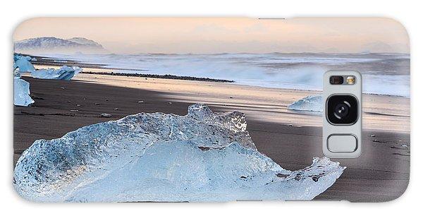 Ice Beach Galaxy Case