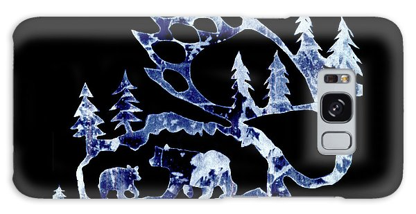 Ice Bears 1 Galaxy Case by Larry Campbell