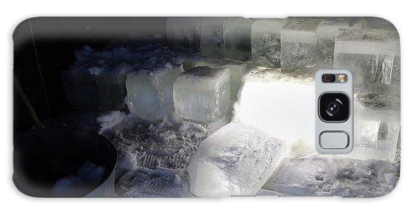 Ice Blocks In House Galaxy Case