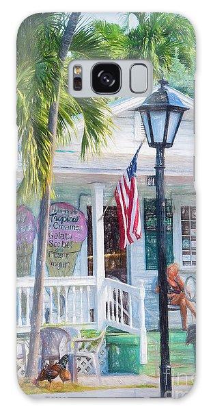 Ice Cream In Key West Galaxy Case