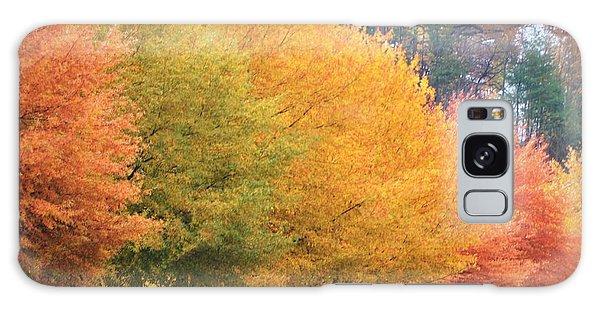October Trees Galaxy Case