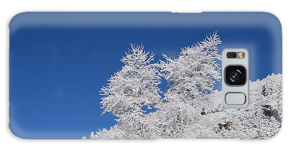 Ice Crystals Ute Pass Cos Co Galaxy Case
