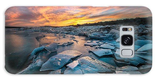 Ice Floe Galaxy Case