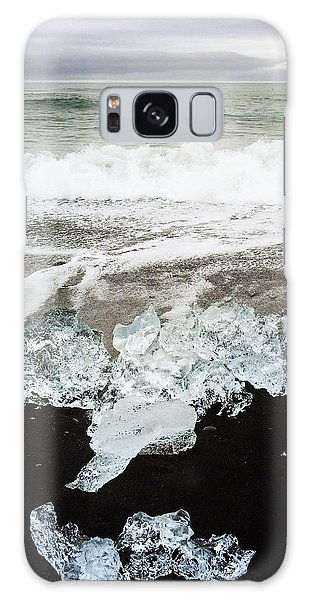Cool Galaxy Case - Ice In Iceland by Matthias Hauser