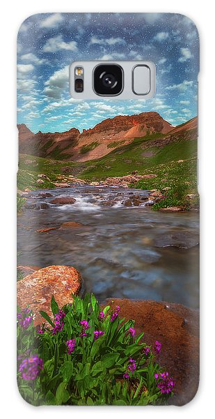 Galaxy Case featuring the photograph Ice Lake Nights by Darren White