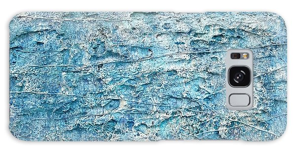 Galaxy Case featuring the painting Ice Melt  # 22617 by Robert Anderson