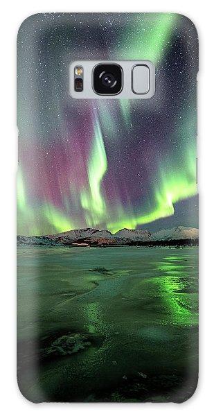 Ice Reflection II Galaxy Case