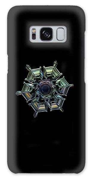 Ice Relief, Black Version Galaxy Case