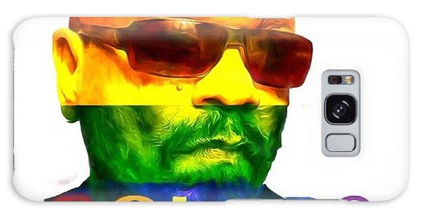 Celebrities Galaxy Case - Ice-t Colors The Ganga Of La Will Never by David Haskett II
