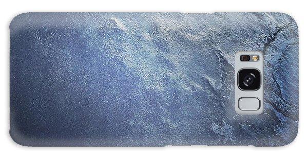 Ice Texture Galaxy Case