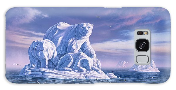 Seagull Galaxy Case - Icebeargs by Jerry LoFaro