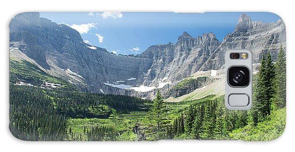 Iceberg Lake Trail - Glacier National Park Galaxy Case