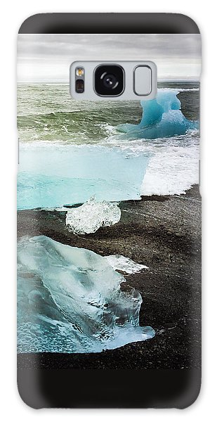 Iceberg Pieces Jokulsarlon Iceland Galaxy Case