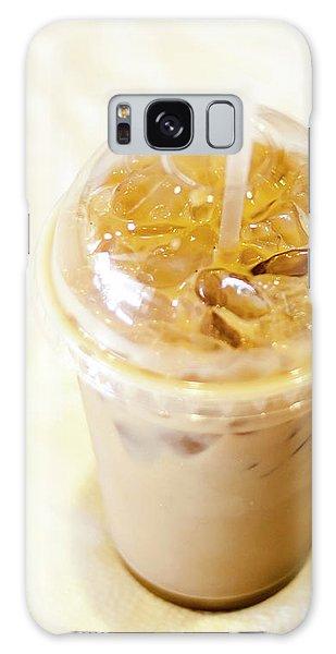 Iced Coffee 1 Galaxy Case