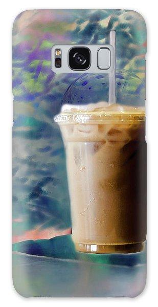 Iced Coffee 3 Galaxy Case