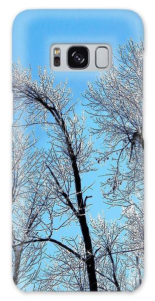 Iced Trees Galaxy Case