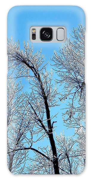 Iced Trees Galaxy Case