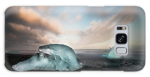Iceland Galaxy S8 Case - Iceland Glacial Ice by Larry Marshall