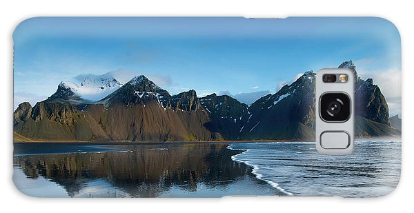 Iceland Galaxy S8 Case - Iceland Sunrise by Larry Marshall
