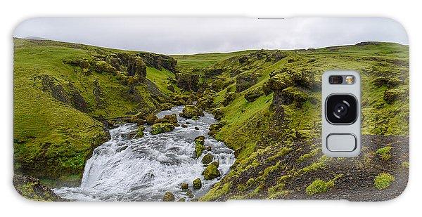 Icelandic Waterfall Galaxy Case