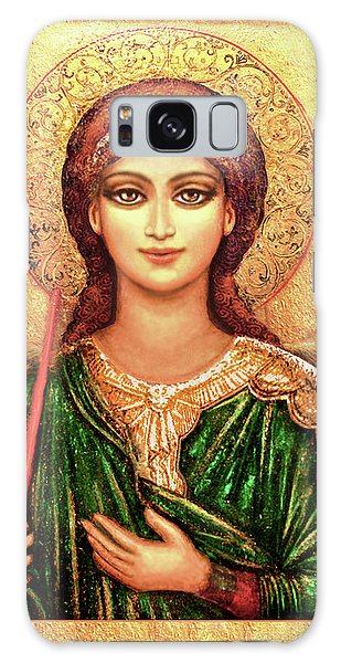 Icon Angel In Green Galaxy Case
