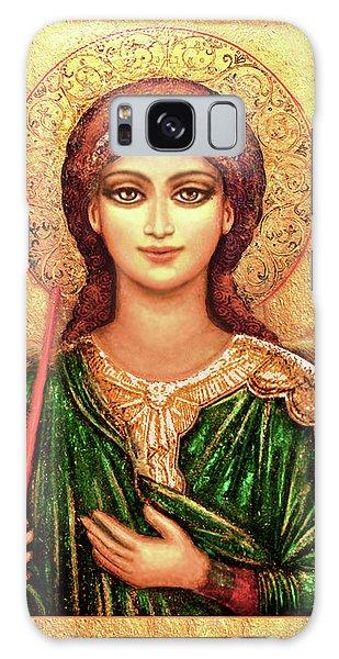 Icon Angel In Green Galaxy Case